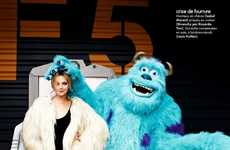 Disney-Filled Style Shoots - The ELLE France Fashion Parade Editorial Stars a Playful Heather Marks