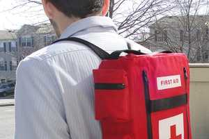 The Medkit Backpack is Inspired by the Video Game 'Left 4 Dead'