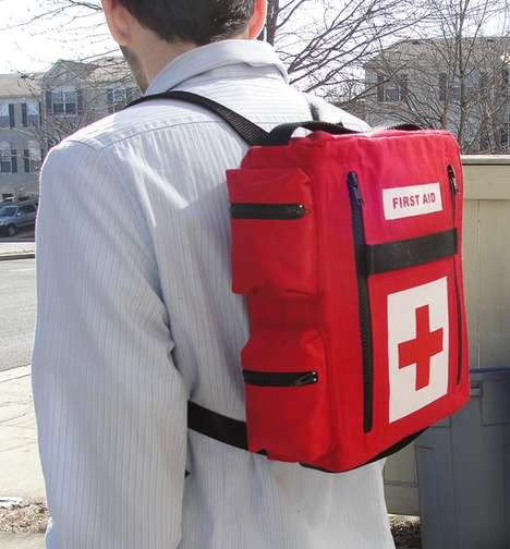 Comical Lifesaving Bags - The Medkit Backpack is Inspired by the Video Game 'Left 4 Dead'