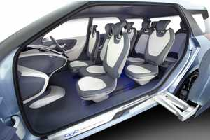 The Hyundai 'Hexa Space' is Marketed Toward Young Adults