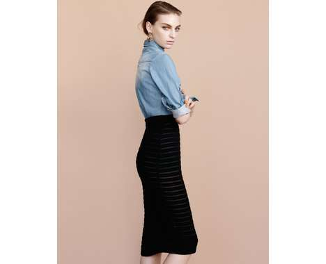 pencil skirt fashions