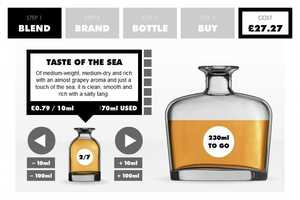 'The Whisky Blender' Website Personalizes Your Experience