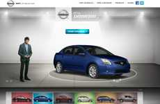 Digital Auto Exhibits - The Nissan Canada Virtual Showroom Lets You Explore Different Models