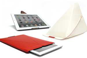 The Smart Stand Sleeve Inconspicously Doubles as a Tablet Stand