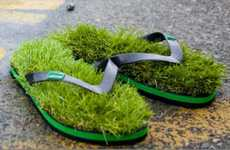 Fetching Grassy Footwear