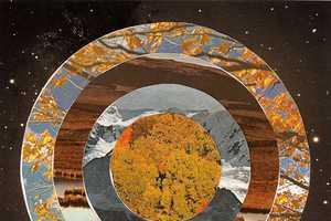 Steven Quinn Crafts Hypnotic Circular Landscape Depictions
