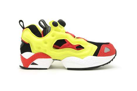 Reebok Insta Pump Fury Firecracker Red