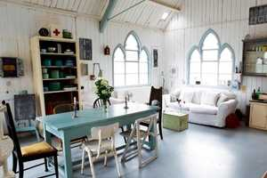 The 'Tin Chapel' is an Old Church Transformed Into a Stylish Home