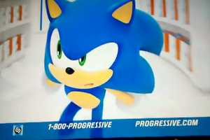 The Latest Progressive Ad Features Sonic the Hedgehog