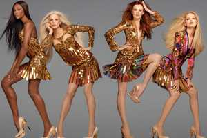 The Roberto Cavalli Spring 2012 Campaign Showcases Serious Sparkle