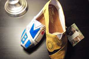 Star Wars Custom TOMS Shoes Suit Up Sci-Fi Style