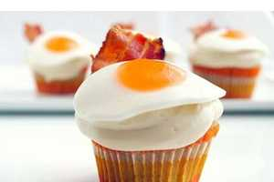10 Breakfast-Inspired Cupcakes - From Sunny-Side Up Desserts to Early Bird Cakes