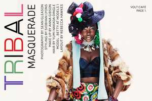 The Betty Adewole for Volt Cafe Magazine Shoot is Colorful and Bold