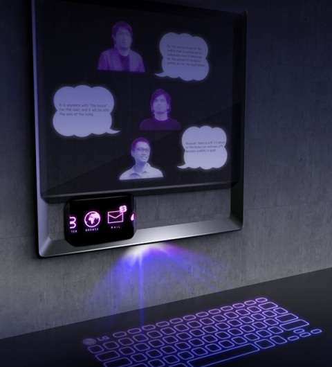Projected Smartphone Docks