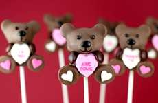 Heart-Toting Tiny Treats - These Valentine's Day Cake Pops are Full of Sweet Sentiment