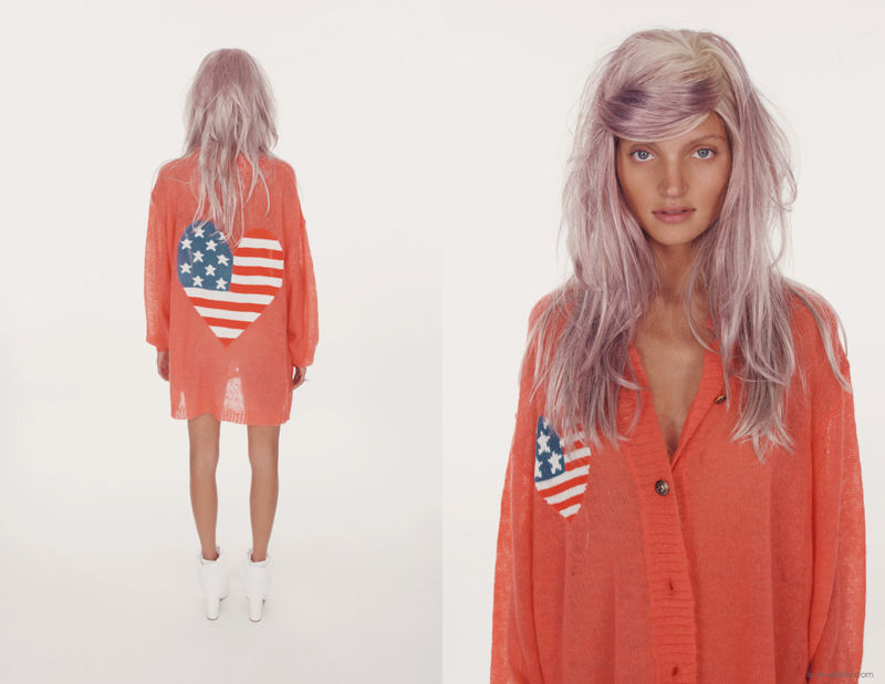 Patriotic Pink-Haired Lookbooks (UPDATE)
