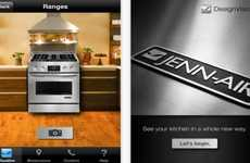 Appliance-Simulating Apps - Jenn-Air DesignVision AR App Lets You Position New Products Over Old