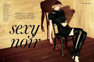 The Glamour Italia January Edition is Sweetly Tempting