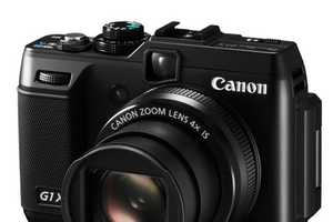 The New Canon Powershot G1 X Has Arrived at CES 2012