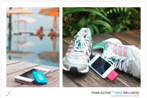 The Tinke by Zensorium Tracks and Records Your Vital Signs
