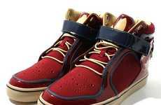 Brogue-Detailed Street Kicks
