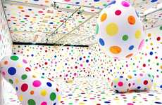 Dotty Artist-Designer Collabs - Louis Vuitton and Yayoi Kusama Team Up To Create New Line