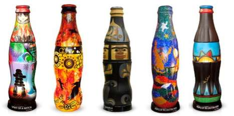 beautiful bottle art