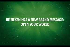 The Heineken 'U-Code' Sends Customized Messages