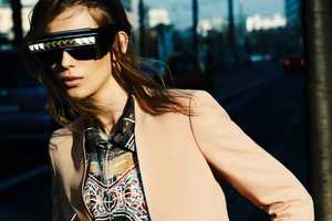 The Monika Sawicka for Vogue Germany Shoot is Grunge-Glam