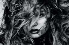 Wild Mane Editorials - The Magdalena Frackowiak Vogue Germany Photo Shoot Causes Serious Hair Envy