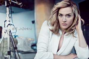 Kate Winslet is the Sophisticated Star of St. John Spring 2012 Campaign