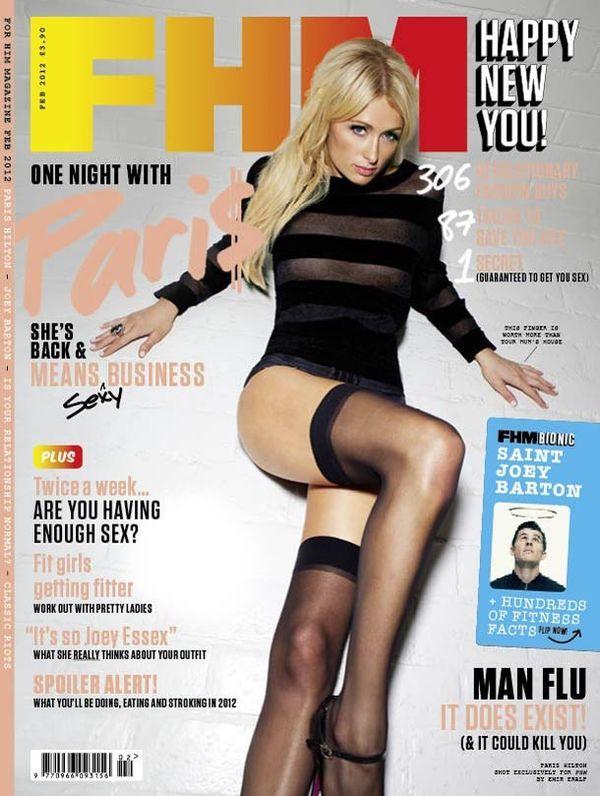 Paris Hilton for FHM 3
