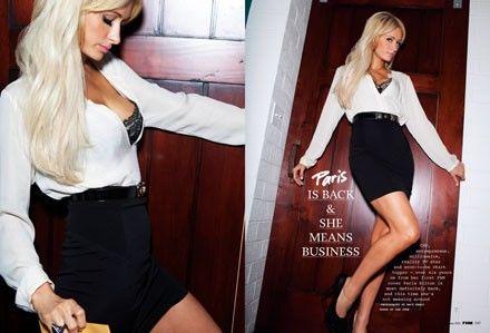 Paris Hilton for FHM 7