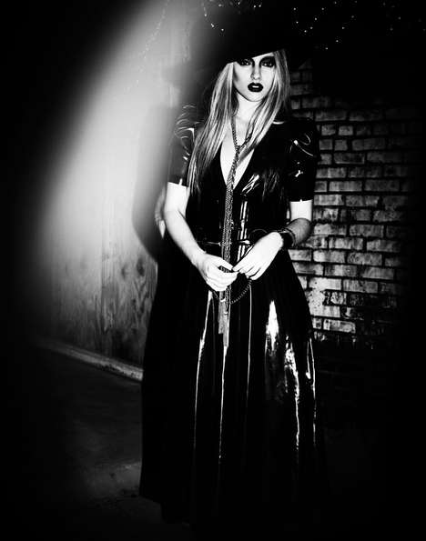 Gothic Goddess Shoots - The Marcelina Sowa Fashion Gone Rogue Editorial is Darkly Decadent