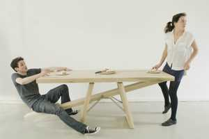 Marleen Jansen's See-Saw Table Will Send You Flying