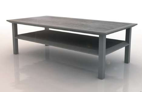 Concrete Table by Pawel Krawczugo