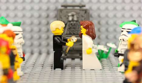 Animated Toy Proposals - Walt Thompson Made a LEGO Stop-Motion Video to Pop the Big Question