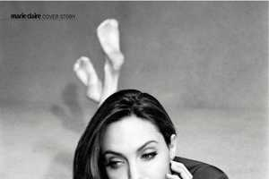 The Angelina Jolie Marie Claire Photo Shoot is Stunning