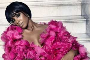 The Kelly Rowland Marie Claire UK Photo Shoot is Feminine and Sultry
