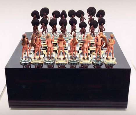 Jake and Chapman Chess Set