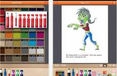 Kiddie Book-Creating Apps - Scribble Press App Lets Children Write and Publish Their Own Stories