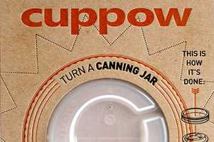 The Cuppow Turns Any Glass-Canning Container into a Mobile Mug
