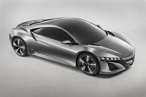 The Acura NSX Concept Auto Makes a Comeback at NAIAS 2012