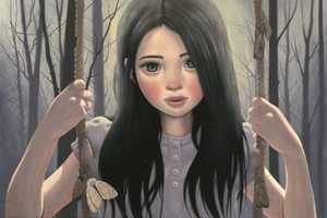 Ana Bagayan Paints Wide-Eyed Children in Dream-Like Depictions