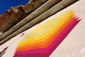 E1000 Adds Colors and Art to Spanish Balconies