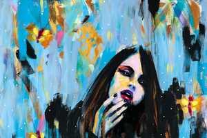 Joshua Petker Illustrates Females Amid Colorful Messes