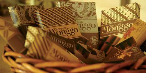 Monggo Chocolate Packaging