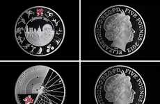 Five Pound Commemorative Coins for London 2012