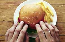 Braille Burgers - Fast Food Chain Wimpy Passes a Message to Visually Impaired Customers