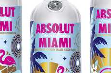 Palm Tree-Adorned Beverages - ABSOLUT MIAMI Honors the Hot City With This New Citrus Drink
